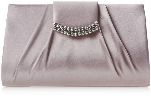 La Regale Roll Clutch with Self Closure Evening Bag