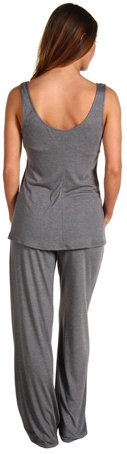Natori Zen Floral Tank PJ w/ Shelf Bra Women's Pajama Sets