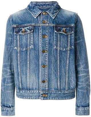 Saint Laurent (サン ローラン) - Saint Laurent Jean 刺繍アップリケ デニムジャケット