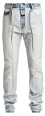 Fear Of God Men's Inside-Out Light Wash Slim-Fit Jeans