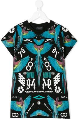 Marcelo Burlon County of Milan Kids macaw print T-shirt