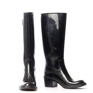 Gucci Black Rubber Boots