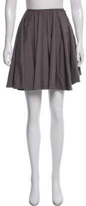 Prada Flared Mini Skirt