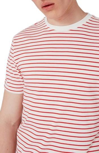 Men's Topman Stripe T-Shirt 5