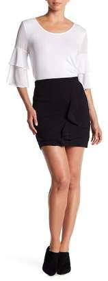 BCBGeneration Ruffled Mini Skirt
