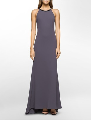Beaded Halter Gown $209 thestylecure.com