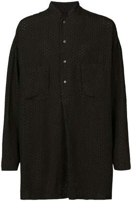 Forme D'expression embroidered pullover shirt