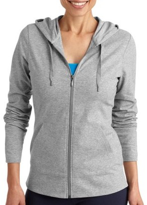 Danskin Women's Dri-More Full Zip Core Hoodie