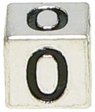"Olympia Block Letter ""O"" Alphabet Charm - Major Brand Name Bracelet Compatible"