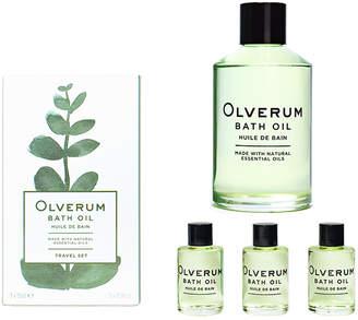 Olverum Award-winning Luxury Bath Oil - Home & Travel Set
