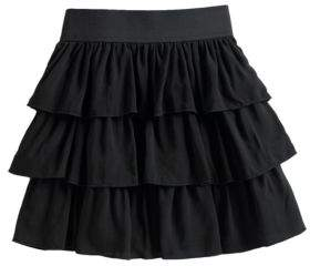 Ally B Girl's Tiered Skirt