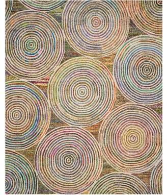 Safavieh Nantucket Jolanta Hand-Tufted Cotton Area Rug, Beige/Multi