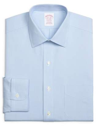 Brooks Brothers Classic Fit Houndstooth Dress Shirt