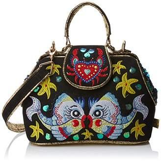 Irregular Choice Womens Flounder Top-Handle Bag