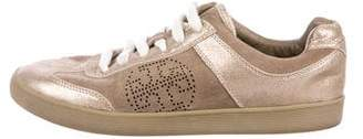 Tory Burch Suede Low-Top Sneakers