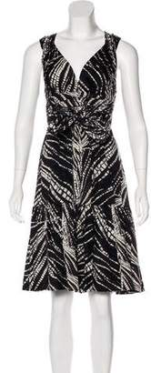 Tracy Reese Printed Midi Dress