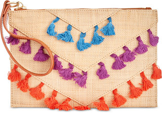INC International Concepts Paulaa Pom Pouch, Only at Macy's $39.50 thestylecure.com