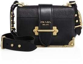 Prada City Saffiano Leather Cahier Bag