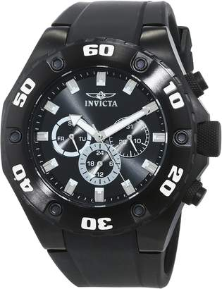 Invicta Men's 'Specialty' Swiss Quartz Stainless Steel and Silicone Casual Watch, Color (Model: 21459)