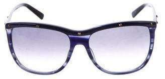 Balmain Oversize Embellished Sunglasses