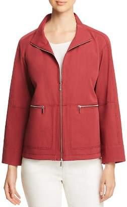 Lafayette 148 New York Kellen Zip-Front Jacket