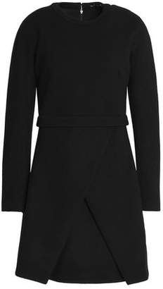 Proenza Schouler Wrap-Effect Crepe Mini Dress
