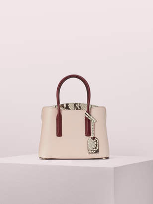 Kate Spade margaux snake medium satchel
