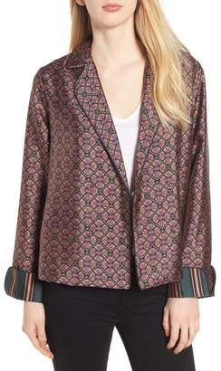 Scotch & Soda Double Breasted Print Pajama Blazer