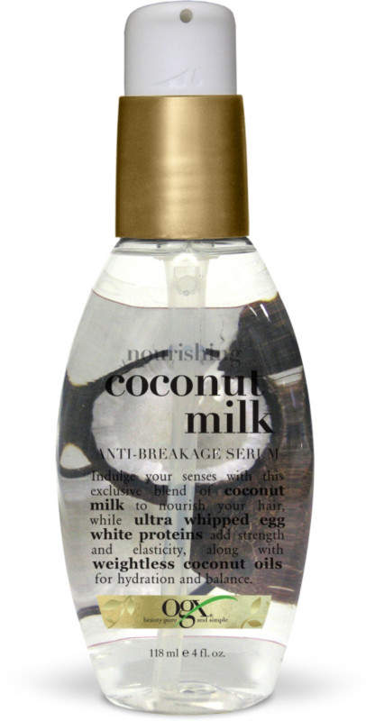 coconut for hair styling how to use hair serum popsugar 6860