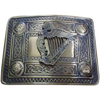 Celtic AAR Men's Irish Harp Kilt Belt Buckle Antique Kilt Belt Buckle Harp