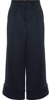 3.1 Phillip Lim Cropped Duchesse-Satin Wide-Leg Pants