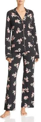 PJ Salvage Luxe Affair Floral Dot Jersey Pajama Set
