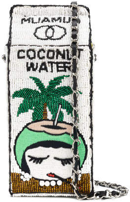 beaded coconut water carton bag