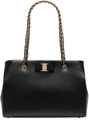 Medium Melike Saffiano Leather Bag $1,033 thestylecure.com