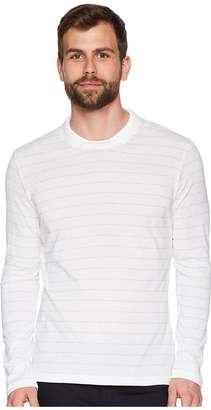 Eleventy Long Sleeve Johnny Collar Polo