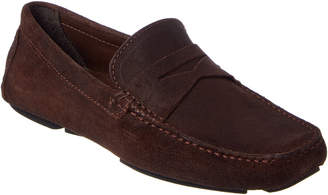 Donald J Pliner Men's Varran Suede Driving Loafer