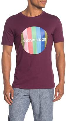 Knowledge Cotton Apparel Striped Knowledge Short Sleeve T-Shirt