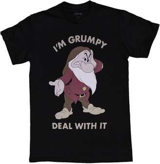 Fifth Sun Men's Disney I'm Grumpy Deal With It T-Shirt