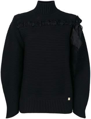 Class Roberto Cavalli ribbed knit sweater