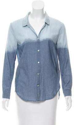The Kooples Ombré Button-Up Top