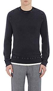 Massimo Alba Men's Melton Sweater - Navy