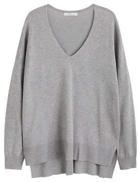 MANGO Violeta BY Asymmetric hem sweater
