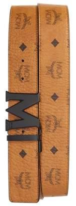 MCM Reversible Signature Leather Belt