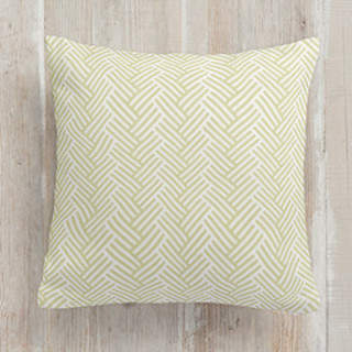 Soft Herringbone Self-Launch Square Pillows