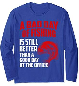 Cool Graphic Funny Saying About Fishing Long Sleeve T-shirt
