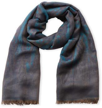 Etro Jacquard Wool Shawl