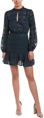 Finders Keepers English Factory Lights Go Out A-Line Dress