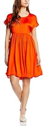 Gat Rimon Women's Short Sleeve Dress - Orange