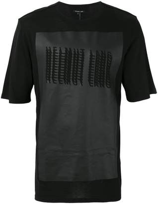Helmut Lang glitch print T-shirt