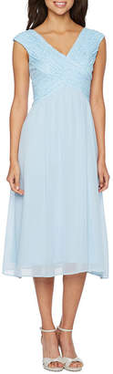Melrose Sleeveless Embellished Fit & Flare Dress